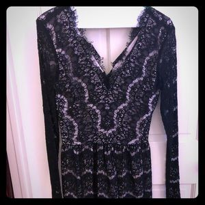 Dolce Vita Black lace dress